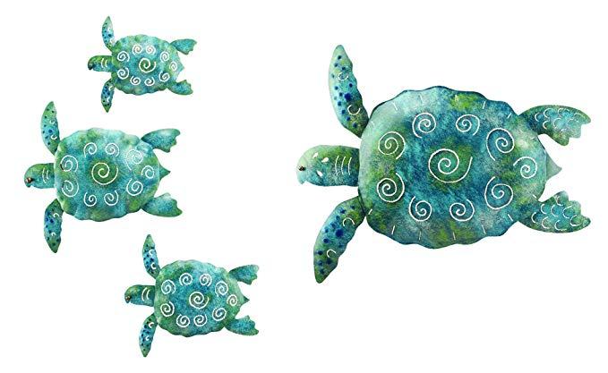 Regal Sea Turtle Set/3 and Décor 20