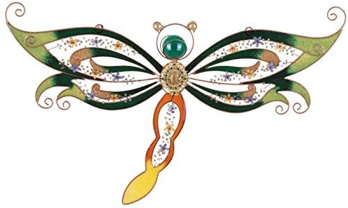 StealStreet SS-G-97770 Copper & Gem Dragonfly Decoration Collectible Decor Wall Decorations